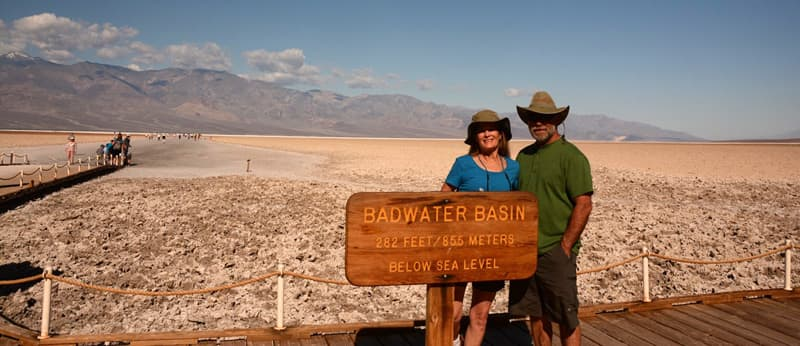 Badwater Basin, Below Sea Level