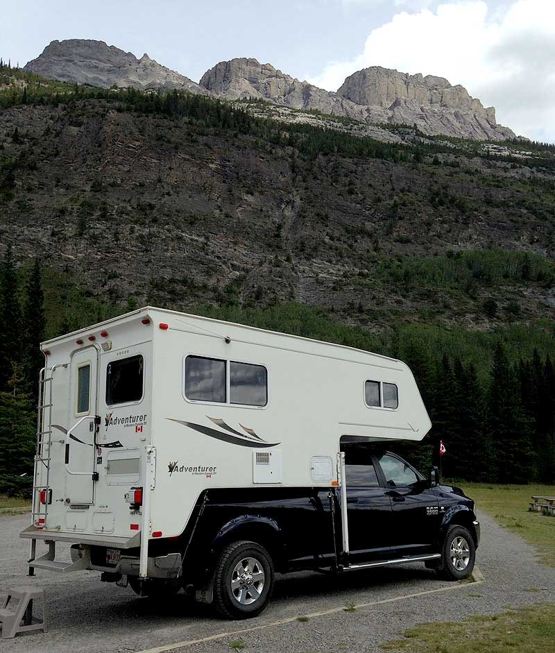 Camping at Banff National Park