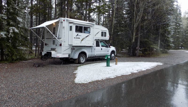 Banff Tunnel Mountain Campground