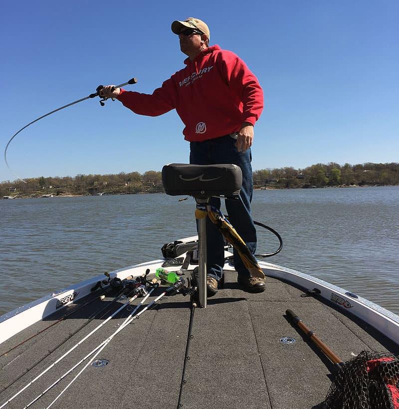 Bass Fisherman, Troy O'Rourke