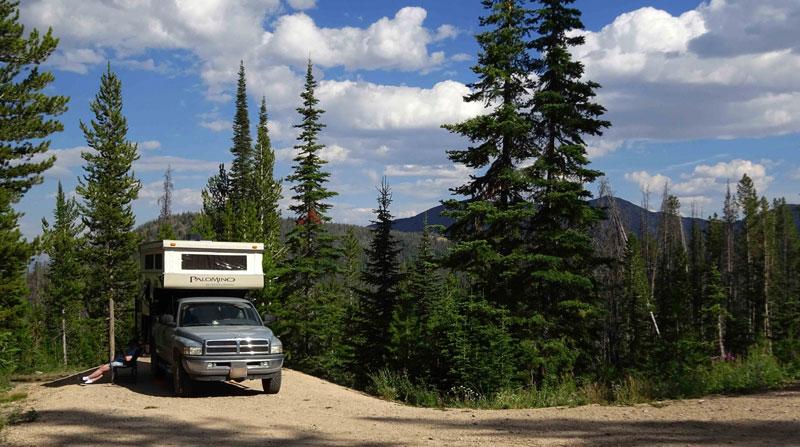 Bayhorse Lake Campground Idaho