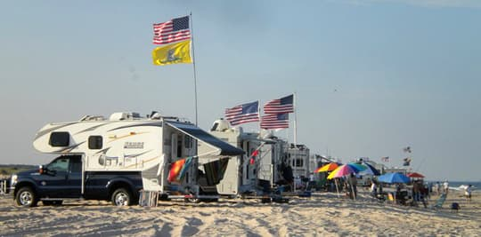 How to truck camp on the beach for Nc surf fishing calendar