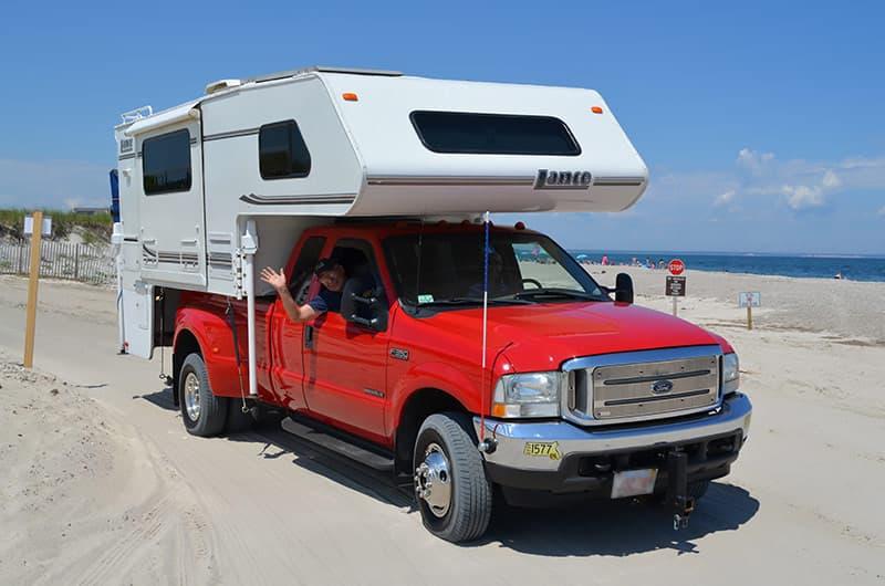 Beach driving on Sandy Neck Beach
