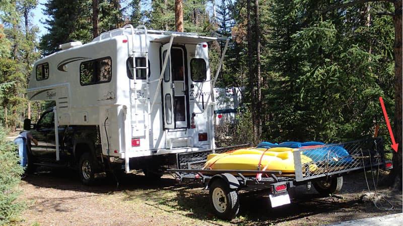 Bear two Bigfoot Camper