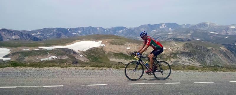 Beartooth Highway Bicycling