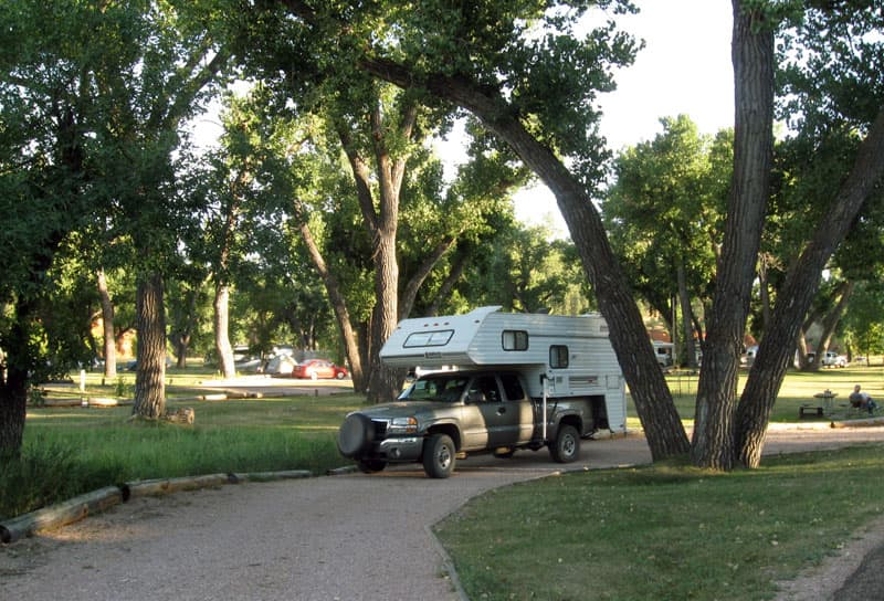 Belle Fouche Campground, Wyoming