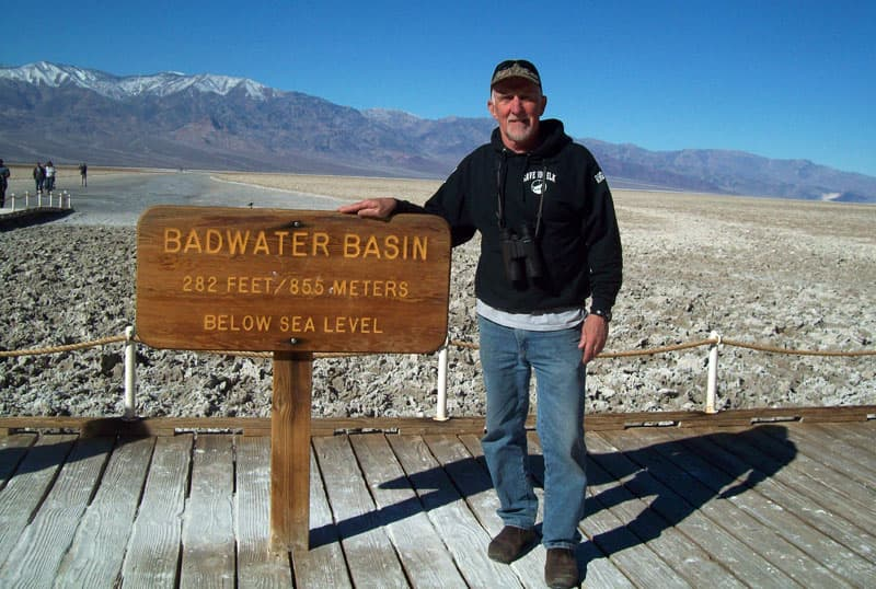 Below Sea Level, Badwater Basin