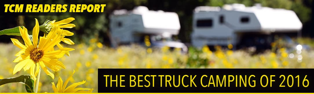 Best Truck Camping Experiences 2016