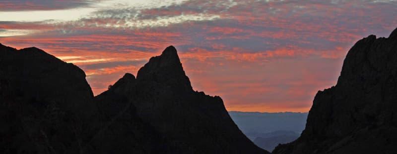 Big Bend The Window Chisos Mountain