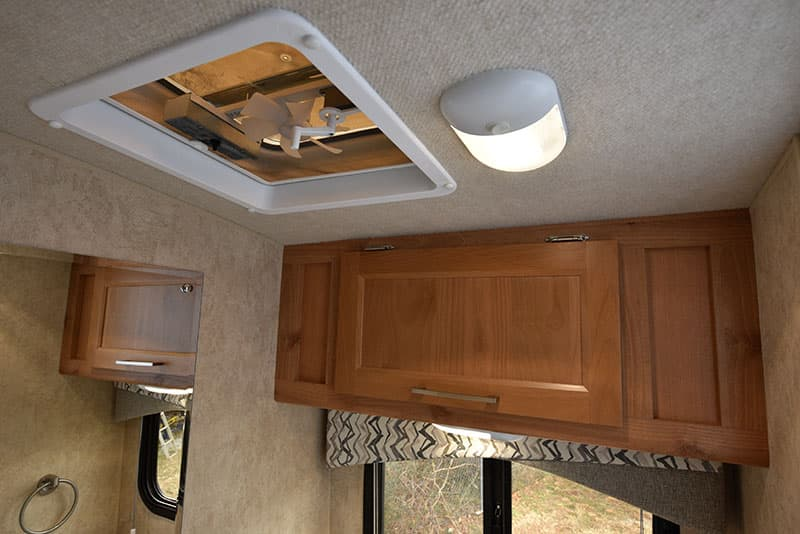 Bigfoot 10.4 Dry Bath Ceiling Fan Light Cabinet