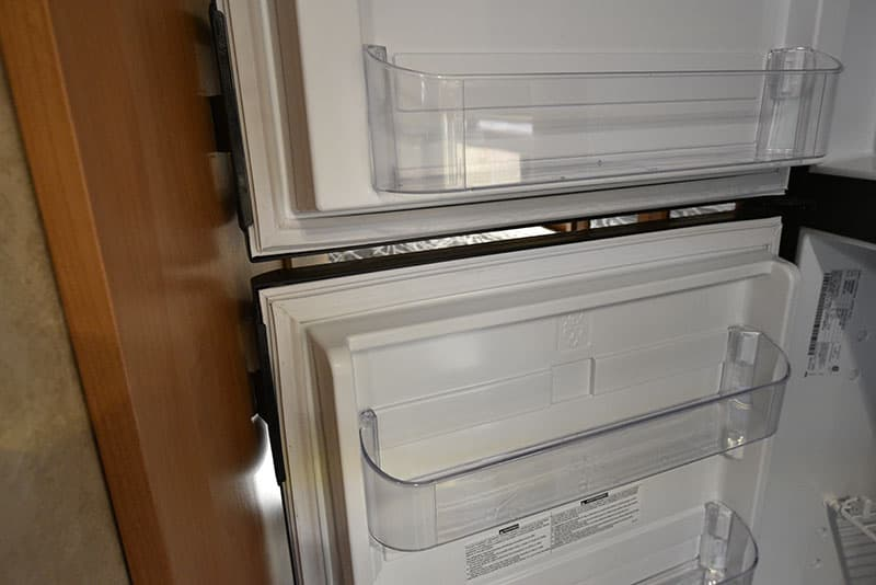 Bigfoot 10.4 Kitchen Refrigerator Touches Wall