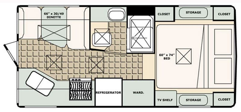 Bigfoot 25C104 Review Floor Plan