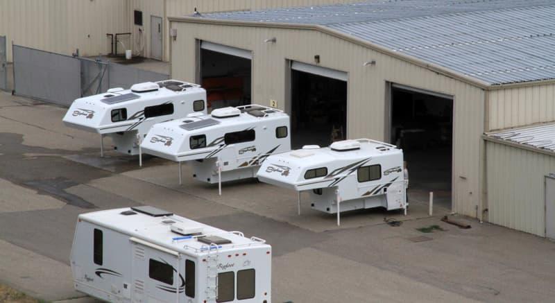 Bigfoot Truck Campers Building