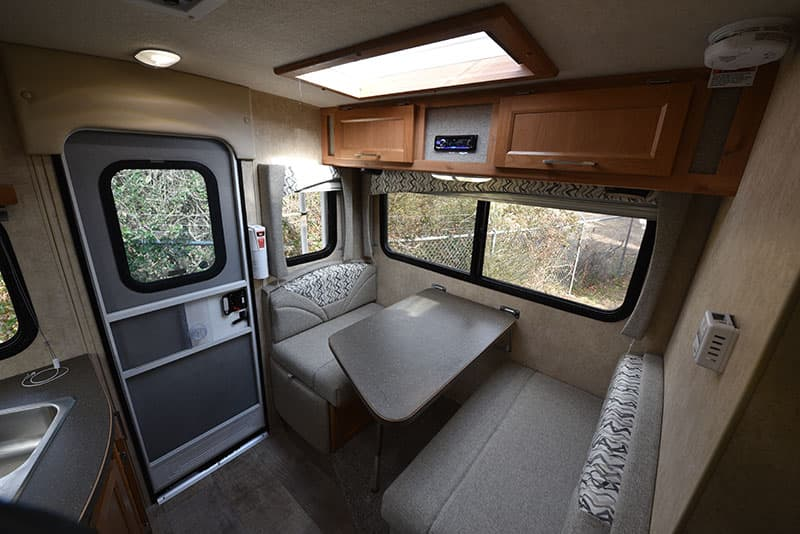Bigfoot Camper 10-4 Dinette Side
