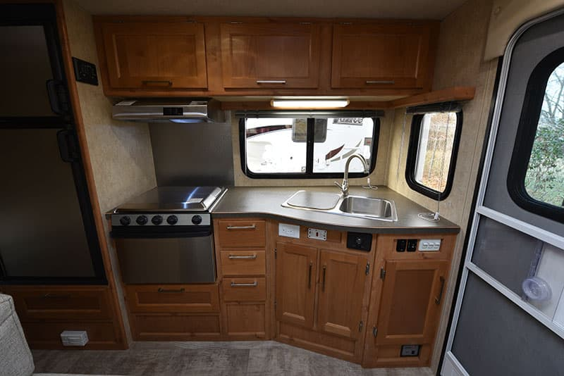 Bigfoot Camper 10.4 Kitchen