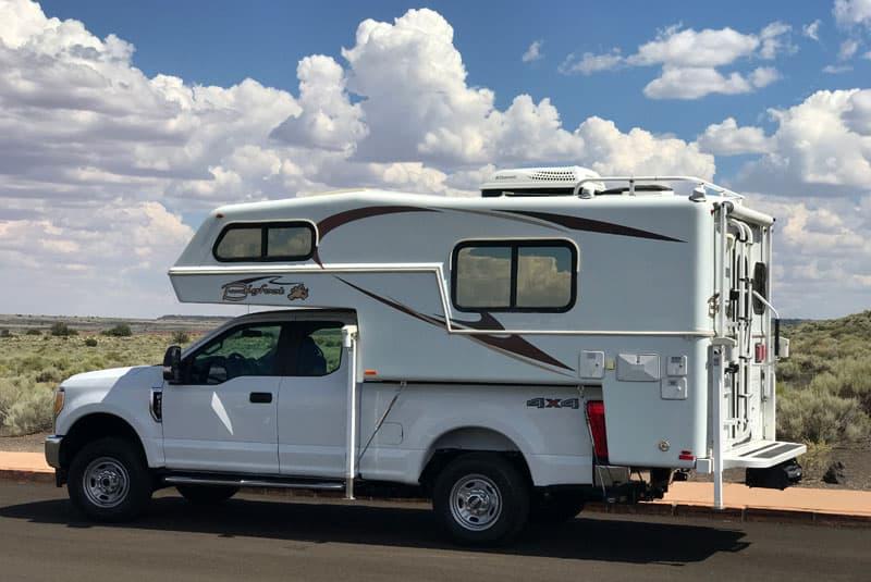 Bigfoot Camper New Ford Truck Wupatki Arizona