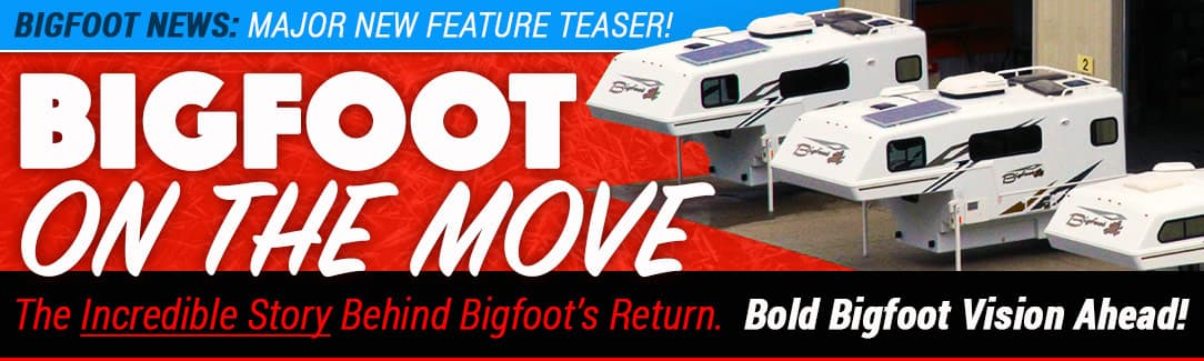 Bigfoot RV On The Move