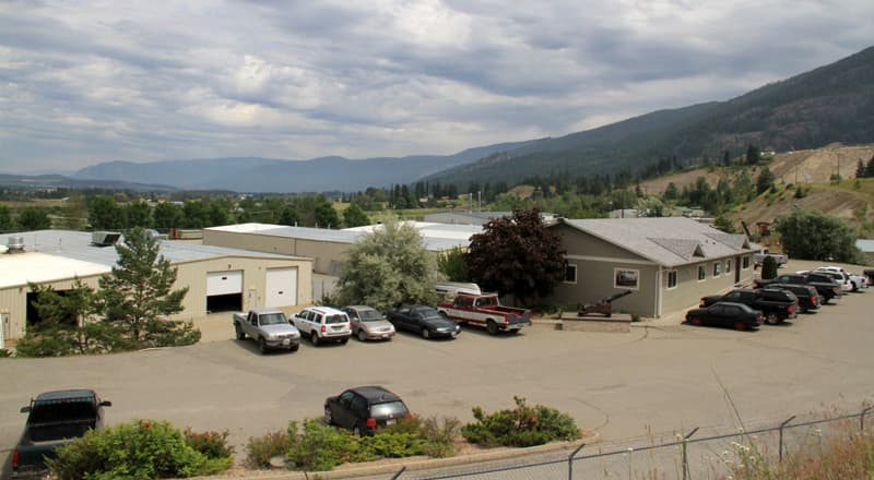 Bigfoot facility in the Okanagan Valley
