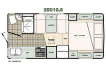 Bigfoot floorplan 25C10-6