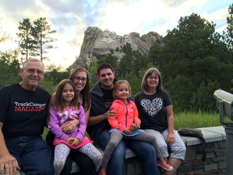 Bill Harr Family Mt Rushmore South Dakota