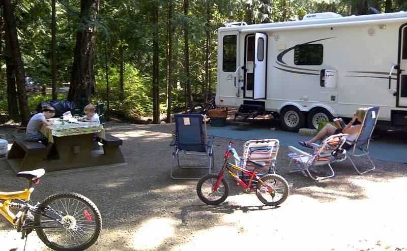 Bilodeau camping