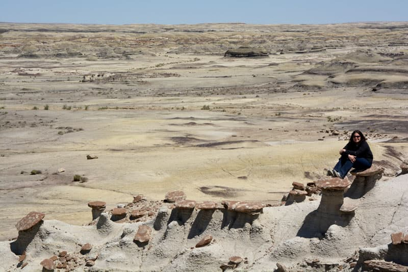 Lost in the Bisti wilderness