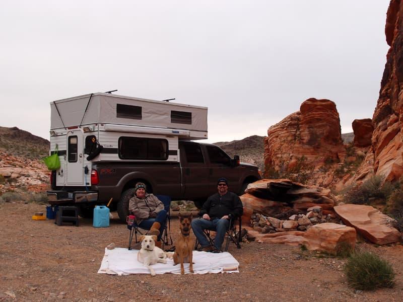 BLM Camping near Las Vegas, Nevada