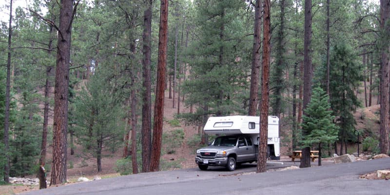 Black Canyon USFS campground, New Mexico