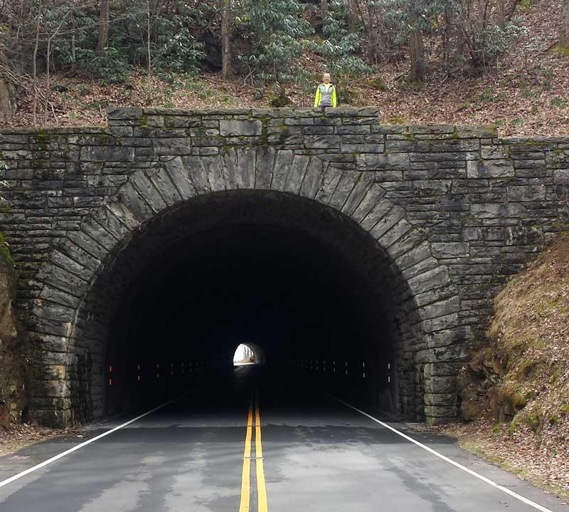 Blue Ridge Parkway National Tunnel