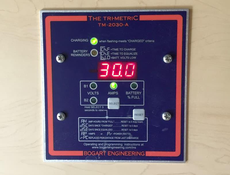 Blue Sea ML-ACR trimetric charging
