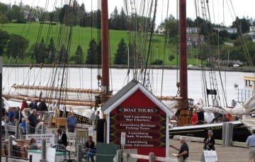 Bluenose II racing schooner