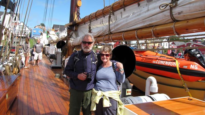 Bluenose II racing schooner Helen Dann