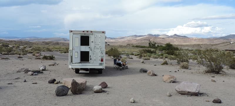 Mesquite Springs Campground, Death Valley National Park