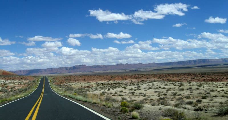 Bonito Campground drive through Arizona
