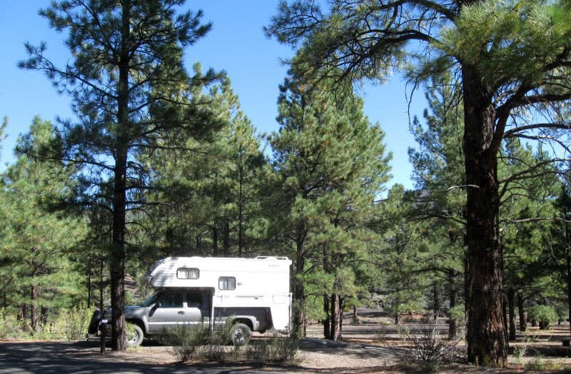 Bonito Campground, Arizona