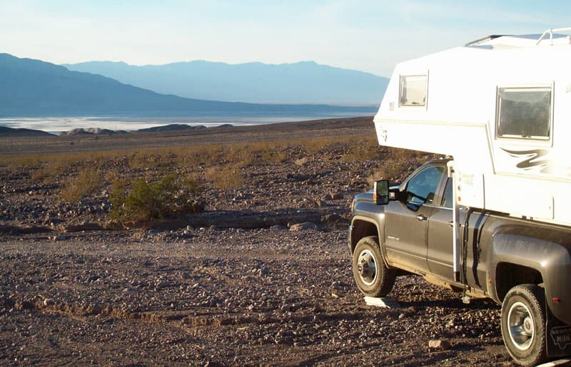 Boondocking Death Valley