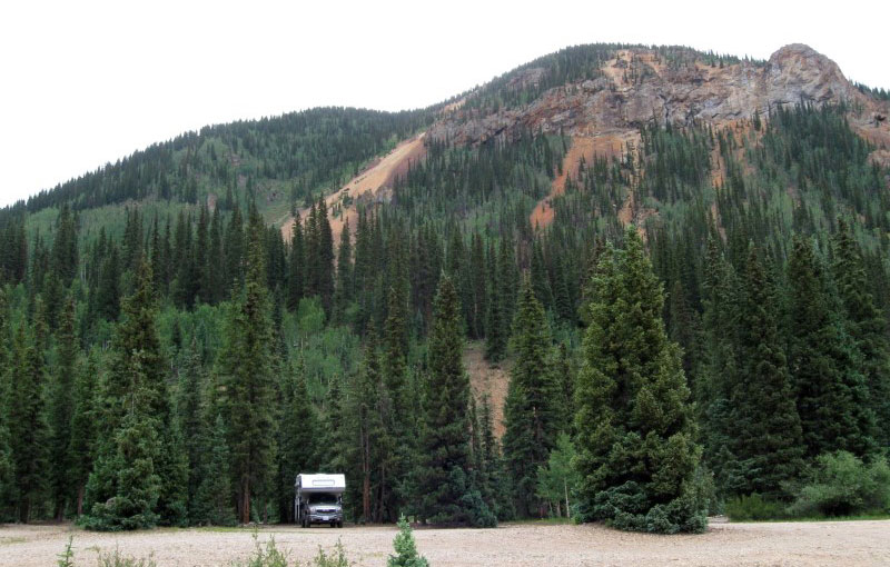 Boondocking Near Silverton Colorado