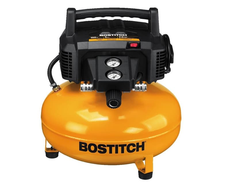 Pancake Air Compressor Bostitch BTFP02012 6-Gallon