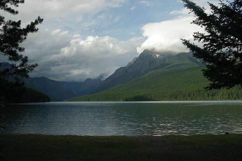 Bowman Lake in Montana