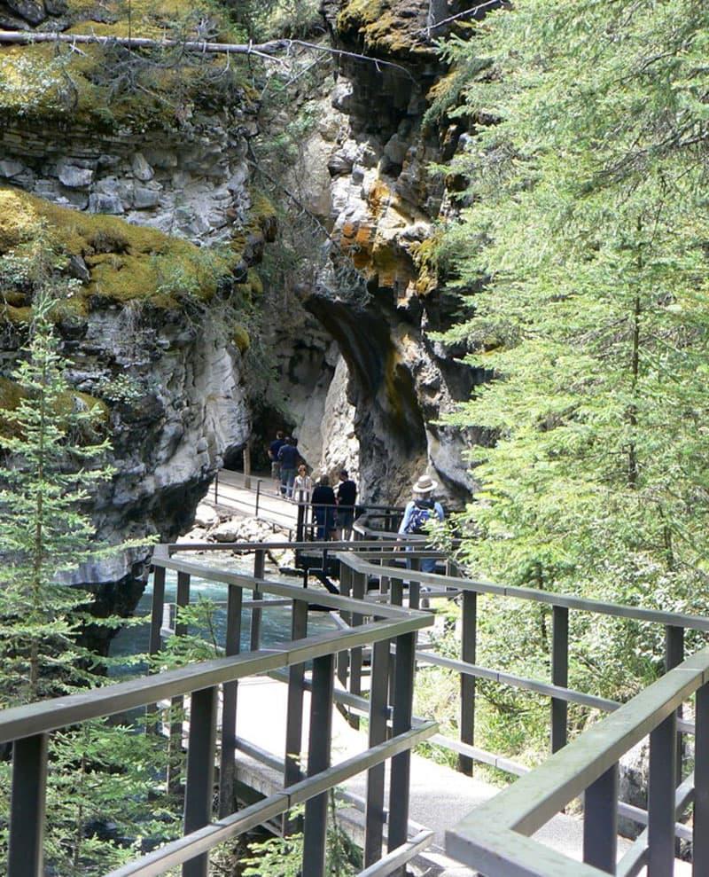 Johnston Canyon Canadian Rockies