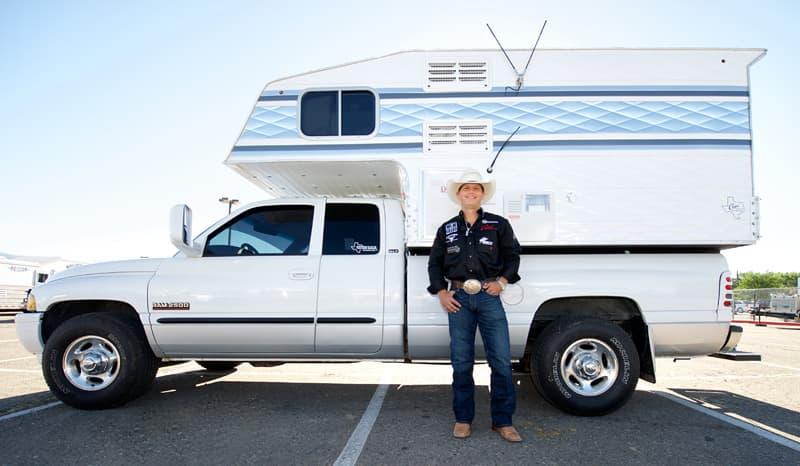 Bradley Harter Capri Truck Camper