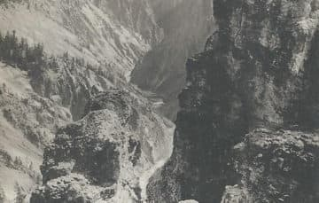 Bright Angel at the Grand Canyon in 1931