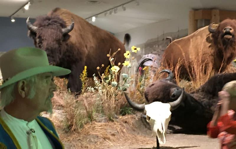 Touring the Buffalo Bill Cody Museum