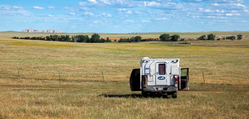 Buffalo Gap National Grassland Phoenix Camper