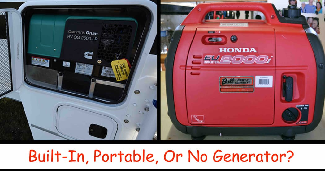 Built In Or Portable Generator