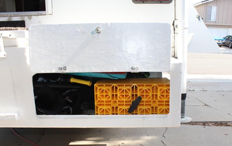 Bumper Storage Leveling Blocks 2