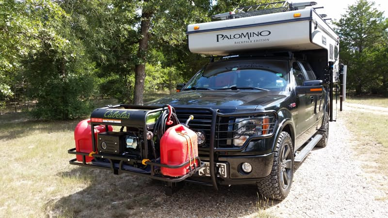 Cabelas Generator And Fuel Tanks