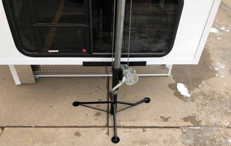 Cable Jacks To Raise Truck Camper