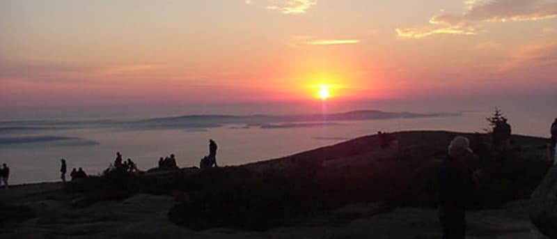 Cadillac Mountain, Maine sunrise