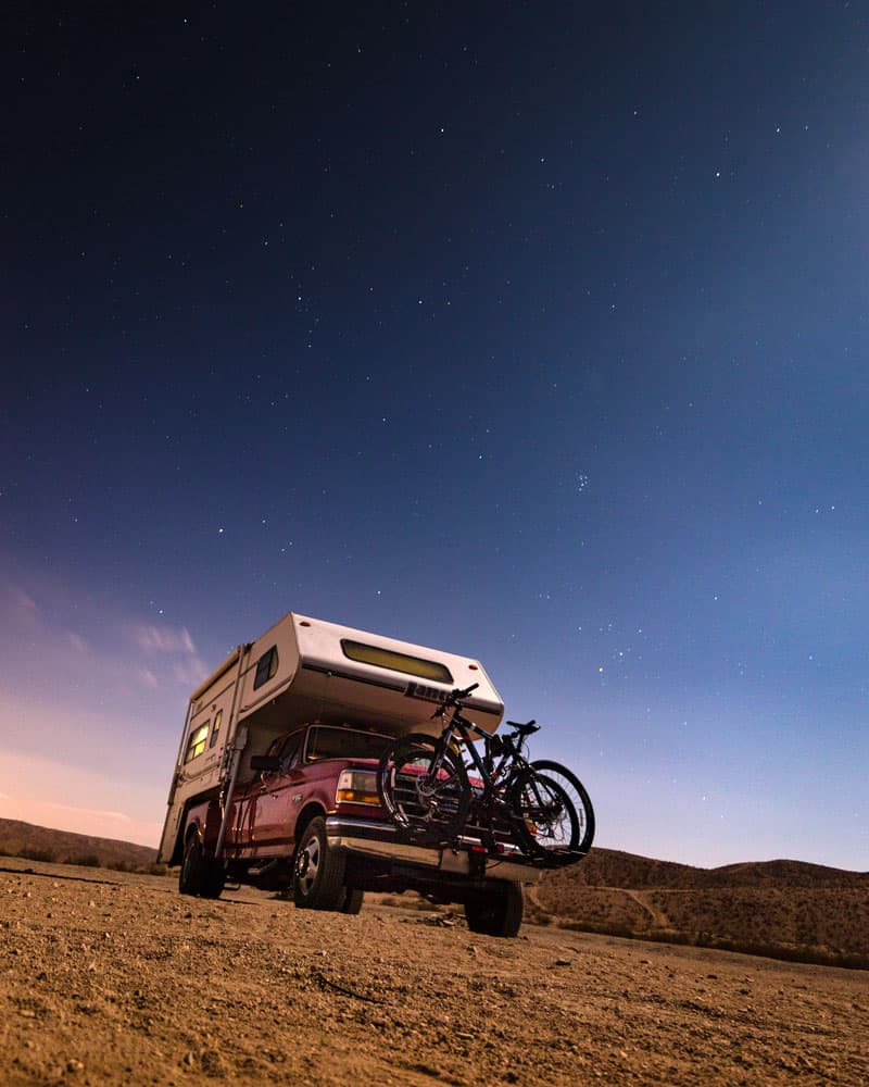 California Barstow OHV BLM Dry Camping